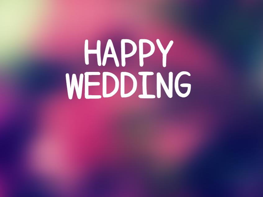 結婚式のBGMにおすすめ洋楽ロック曲!定番曲と定番でない歌を紹介